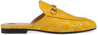 Gucci Women's Princetown GG canvas slipper