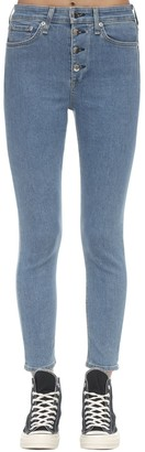 Rag & Bone Nina High Rise Skinny Cotton Denim Jeans