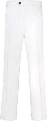 Prada Cropped Straight-Leg Jeans