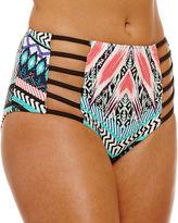A.N.A a.n.a Chevron High Waist Swimsuit Bottom