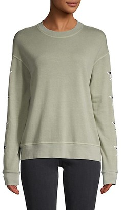 Monrow Star Graphic Sweatshirt