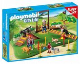 Playmobil City Life Dog Park Super Set - 6145