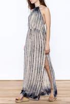 Solemio Tie-Dye Maxi Dress