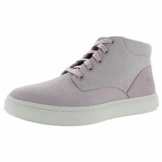 Timberland Womens Bria Nubuck Lace-Up Sneaker Boots Pink 10 Medium (B M)