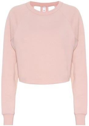 Alo Yoga Double Take cotton-blend sweater