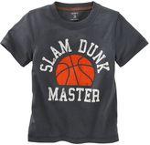 Carter's slam dunk master tee - baby