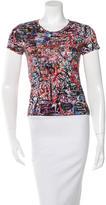 Maje Grafitti Print T-Shirt