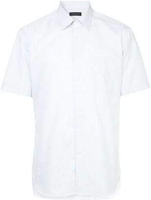 Durban D'urban short sleeved checked shirt