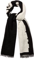 McQ by Alexander McQueen Logo wool-blend scarf