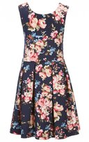 Copper Key Big Girls 7-16 Floral Fit-and-Flare Dress