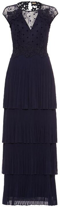Phase Eight Oiriana Pleated Lace Dress
