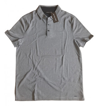 Michael Kors Blue Cotton Polo shirts