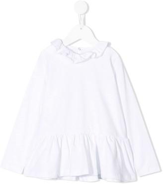 Il Gufo peplum blouse