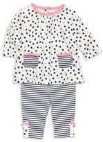 Offspring Baby's Two-Piece Printed Tunic & Legging Set