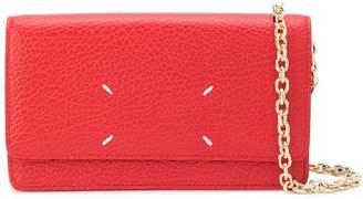 Maison Margiela Leather Wallet Chain Bag
