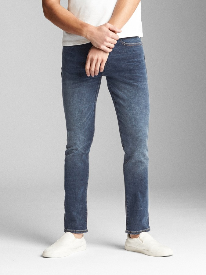 057a3207 Mens Cut Up Skinny Jeans - ShopStyle