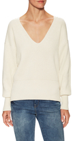 Free People Allure Ribbed V-Neck Sweater