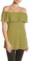 Splendid Striped Off-the-Shoulder Top
