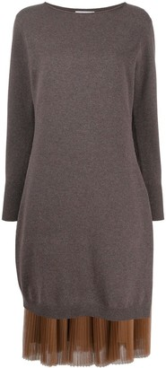 Fabiana Filippi Fine Knit Midi Dress