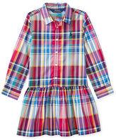 Ralph Lauren Plaid Poplin Shirtdress