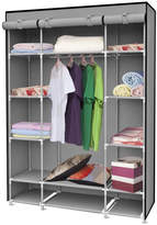 Pier 1 Imports Sunbeam Gray Storage Closet with Shelving