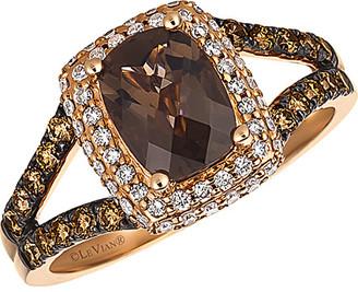 LeVian Le Vian 14K Rose Gold 1.68 Ct. Tw. Diamond & Gemstone Ring