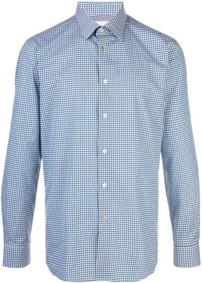 Paul Smith Tailored-Fit Gingham Checked Shirt