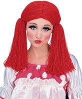 Rubie's Costume Co Std Adult Rag Doll Girl Costume Wig
