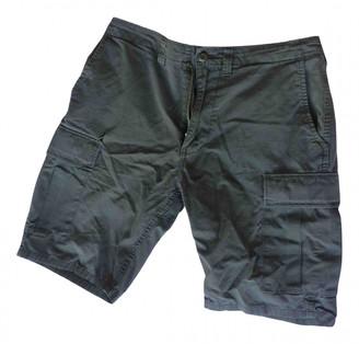 A Bathing Ape Khaki Cotton Shorts