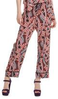 Trina Turk Berta Silk Paisley Pajama Pants