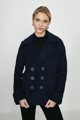 Coast Double Breasted Wool Coat