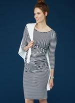 Isabella Oliver Arlington Striped Maternity Dress