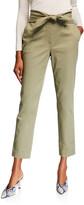 Derek Lam 10 Crosby Leda Tie-Waist Trousers