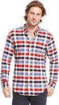 HUGO BOSS 'Equatore' | Slim Fit, Cotton Flannel Casual Shirt by BOSS Orange