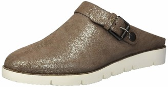 Gentle Souls Women's Esther Clog with Backstrap Cocoa 10 M US