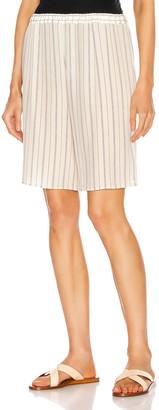 Chloé Stripe Short in Buttercream   FWRD