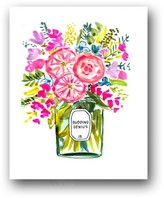 """The Well Appointed House """"Budding Genius II"""" Colorful Flower Art Print"""