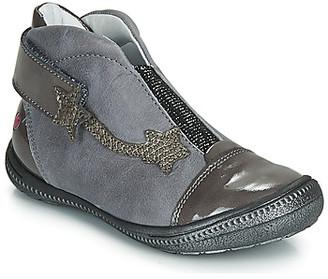 GBB NOLWENN girls's Mid Boots in Grey