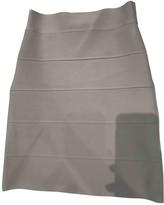 BCBGMAXAZRIA Beige Cotton Skirt for Women