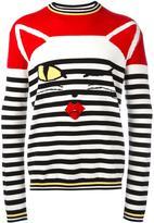 Ermanno Scervino 'cat wink' striped jumper