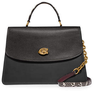 Parker Coach 1941 32 Exotic Top-Handle Bag