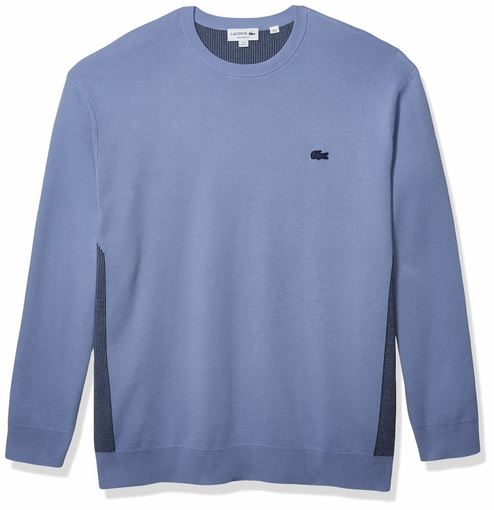 Lacoste Mens Long Sleeve Ergonomic Relaxed Sweater Sweater