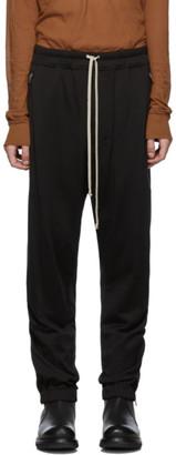 Rick Owens Black Track Lounge Pants