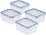 Lock & Lock Easy Essentials 4-pc. 6-oz. Rectangular Food Storage Container Set