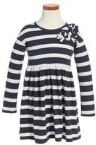 Tea Collection Toddler Girl's Saorsa Applique Dress