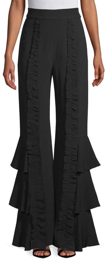 Alexis Women's Bell-Bottom Trousers