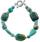 Barse Sierra Genuine Turquoise Toggle Bracelet