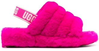 UGG Quilted Shearling Slippers