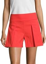 Nicole Miller Women's Stretch Line High Waisted Short