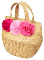 Crazy 8 Blossom Straw Bag
